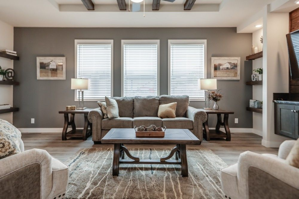 Living Area featured in the Sycamore by Bonnavilla By Seeger Homes in Colorado Springs, CO