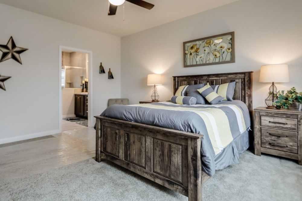 Bedroom featured in the Sycamore by Bonnavilla By Seeger Homes in Colorado Springs, CO