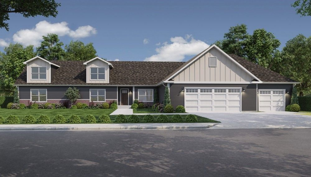 Exterior featured in the Silver Oak by Bonnavilla By Seeger Homes in Colorado Springs, CO