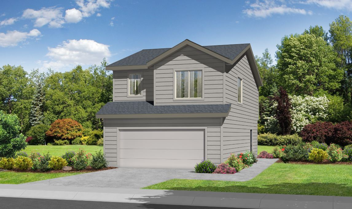 Exterior featured in the Crestone By Ideal Homes in Colorado Springs, CO