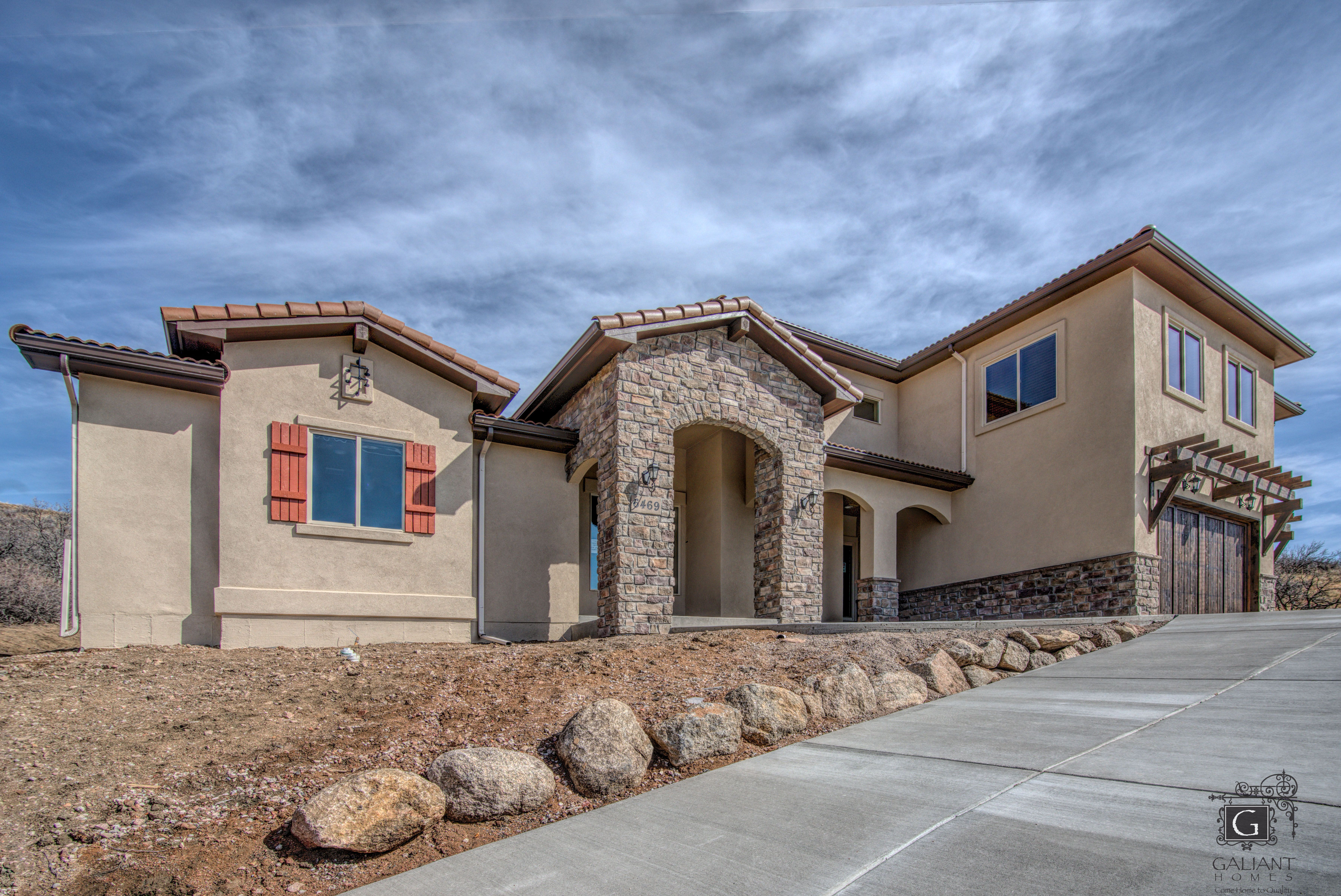 Exterior featured in the Intrepid (Unfinished Basement) By Galiant Homes in Colorado Springs, CO