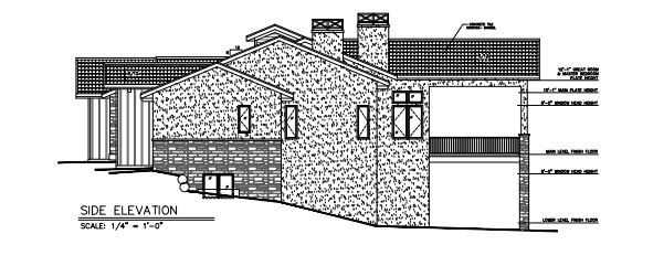 Exterior featured in the Lancelot (Slab) By Galiant Homes in Colorado Springs, CO