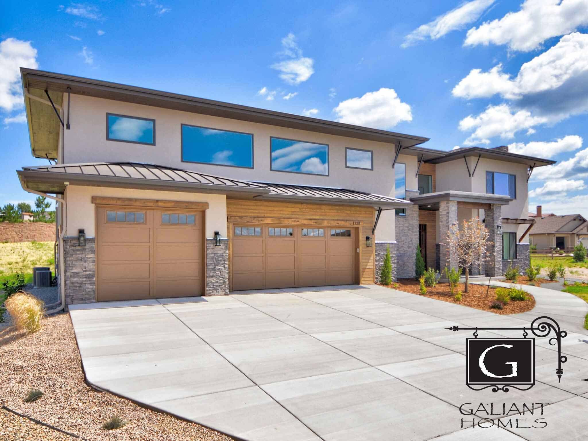 Exterior featured in the Viking By Galiant Homes in Colorado Springs, CO