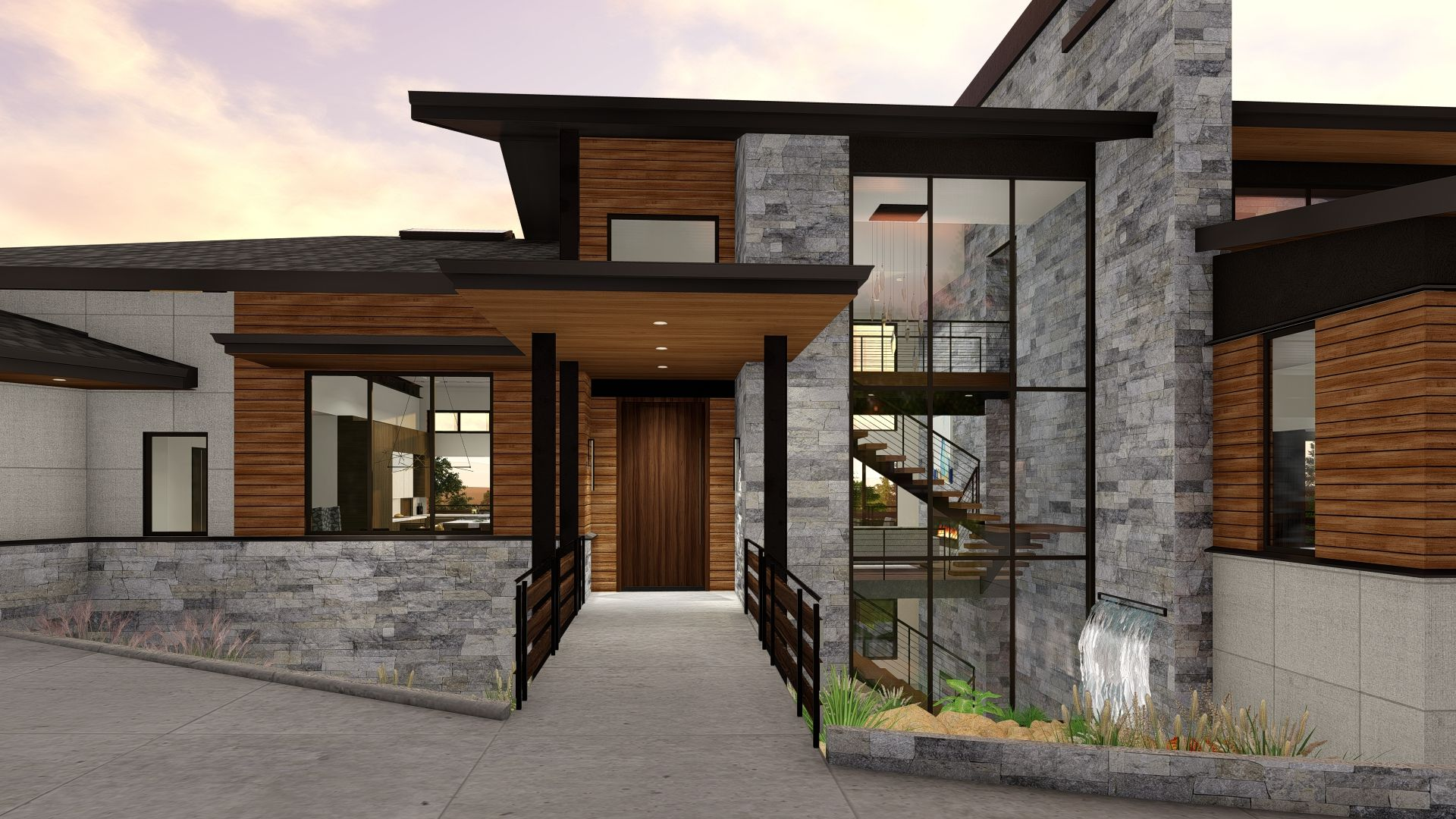 Exterior featured in the Camelot (Slab) By Galiant Homes in Colorado Springs, CO