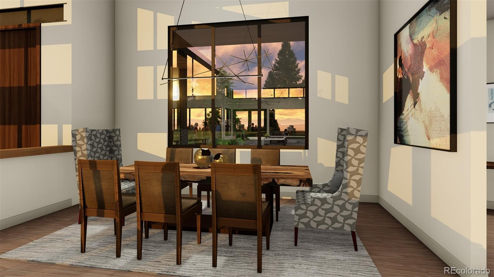 Living Area featured in the Camelot (Slab) By Galiant Homes in Colorado Springs, CO