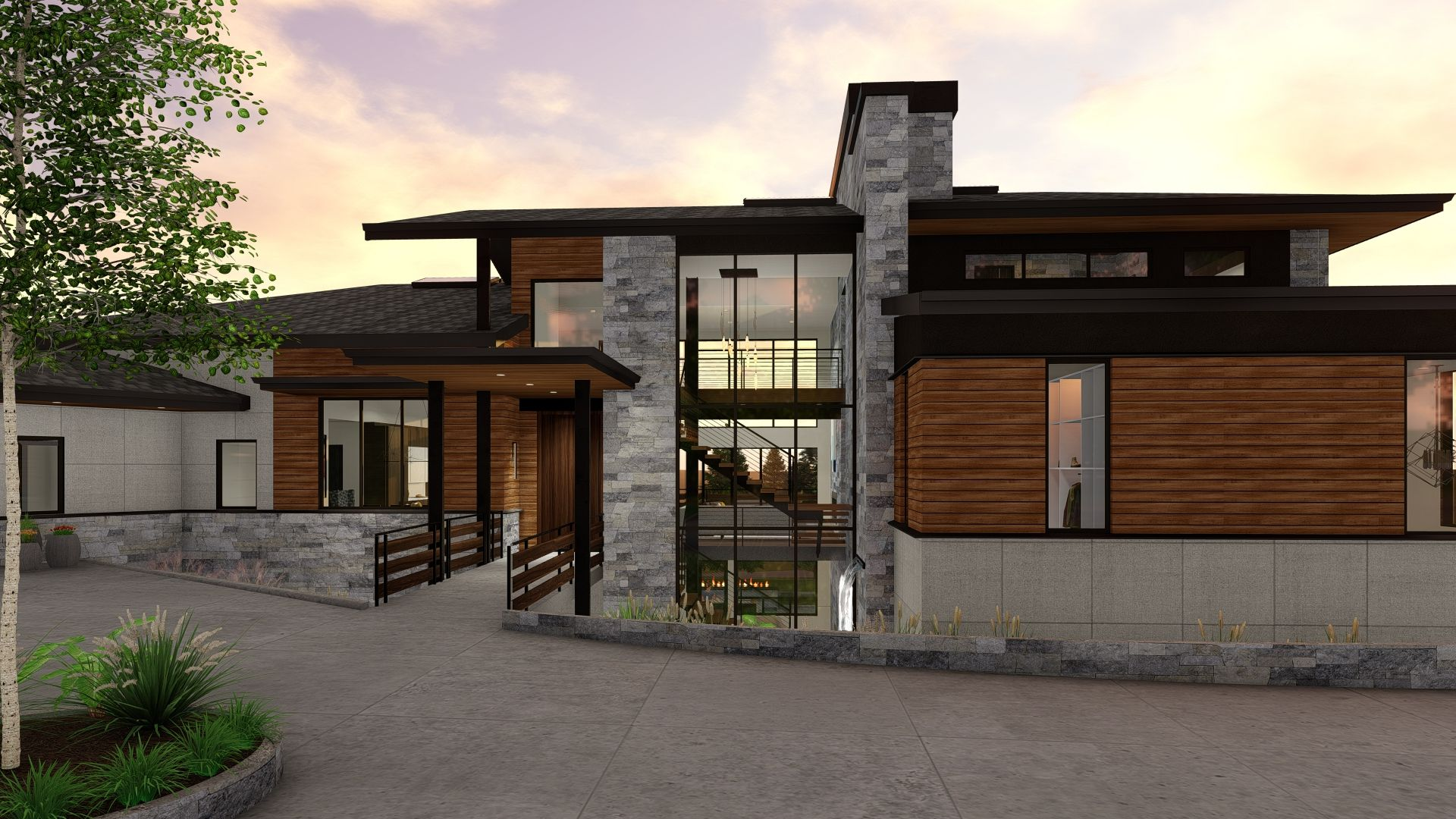 Exterior featured in the Camelot (Finished Basement) By Galiant Homes in Colorado Springs, CO
