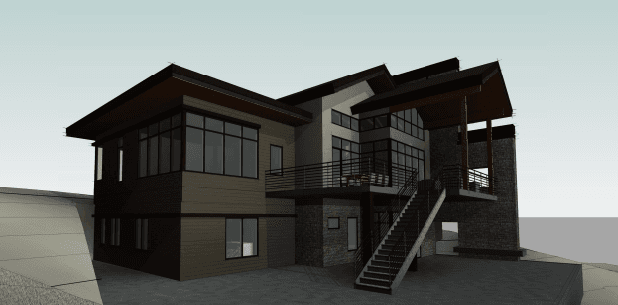 Exterior featured in the Renaissance (Finished Basement) By Galiant Homes in Colorado Springs, CO