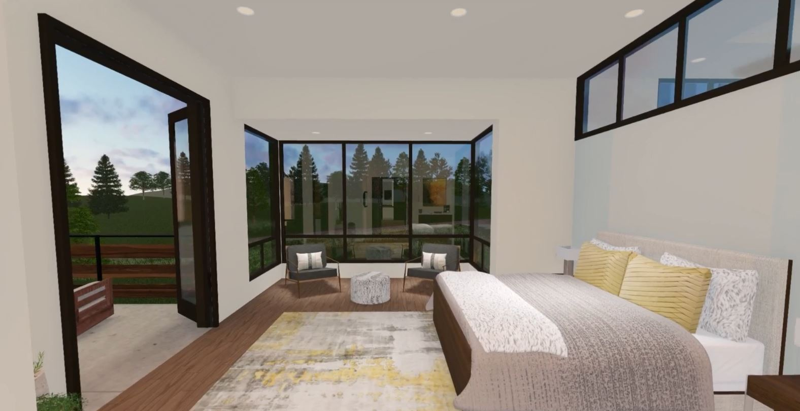 Bedroom featured in the Camelot (Slab) By Galiant Homes in Colorado Springs, CO
