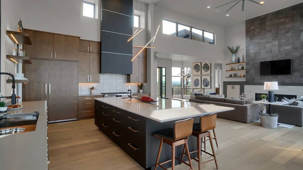 Kitchen featured in the Apogee (Finished Basement) By Galiant Homes in Colorado Springs, CO