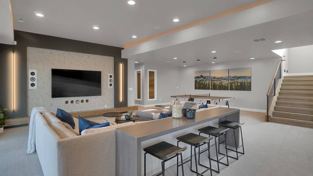 Living Area featured in the Apogee (Finished Basement) By Galiant Homes in Colorado Springs, CO