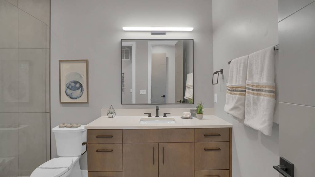 Bathroom featured in the Apogee (Slab) By Galiant Homes in Colorado Springs, CO