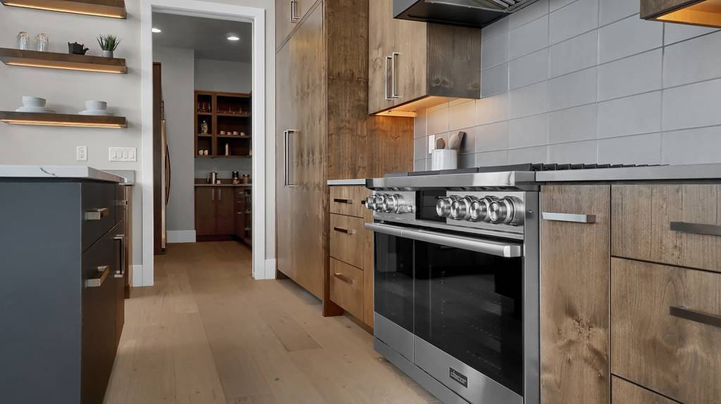 Kitchen featured in the Apogee (Slab) By Galiant Homes in Colorado Springs, CO