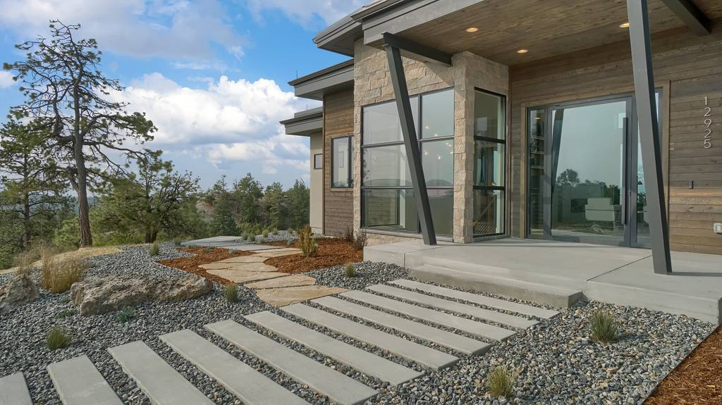 Exterior featured in the Apogee (Slab) By Galiant Homes in Colorado Springs, CO