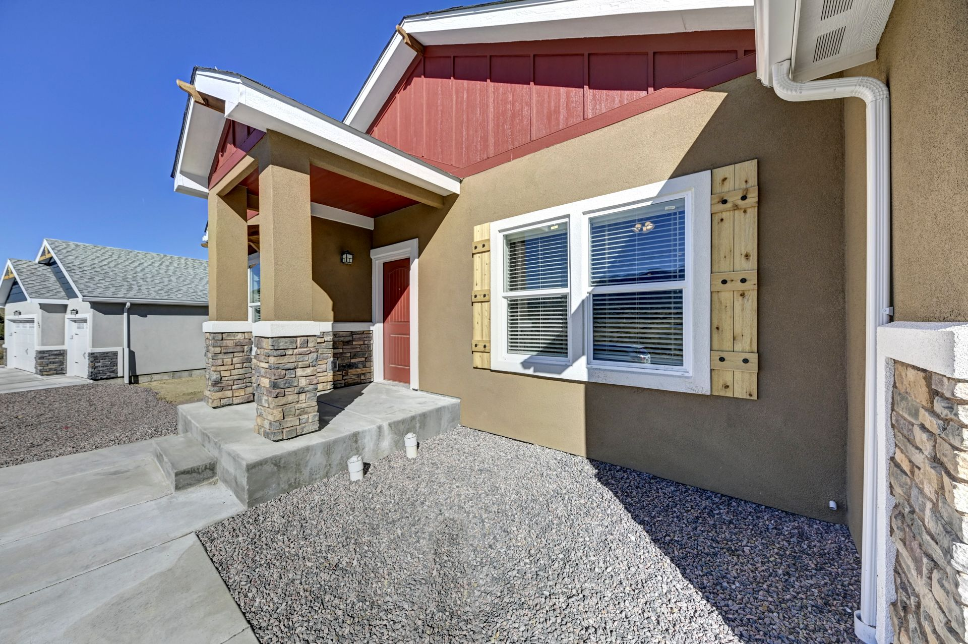 Exterior featured in the Juniper By Westover Homes in Colorado Springs, CO