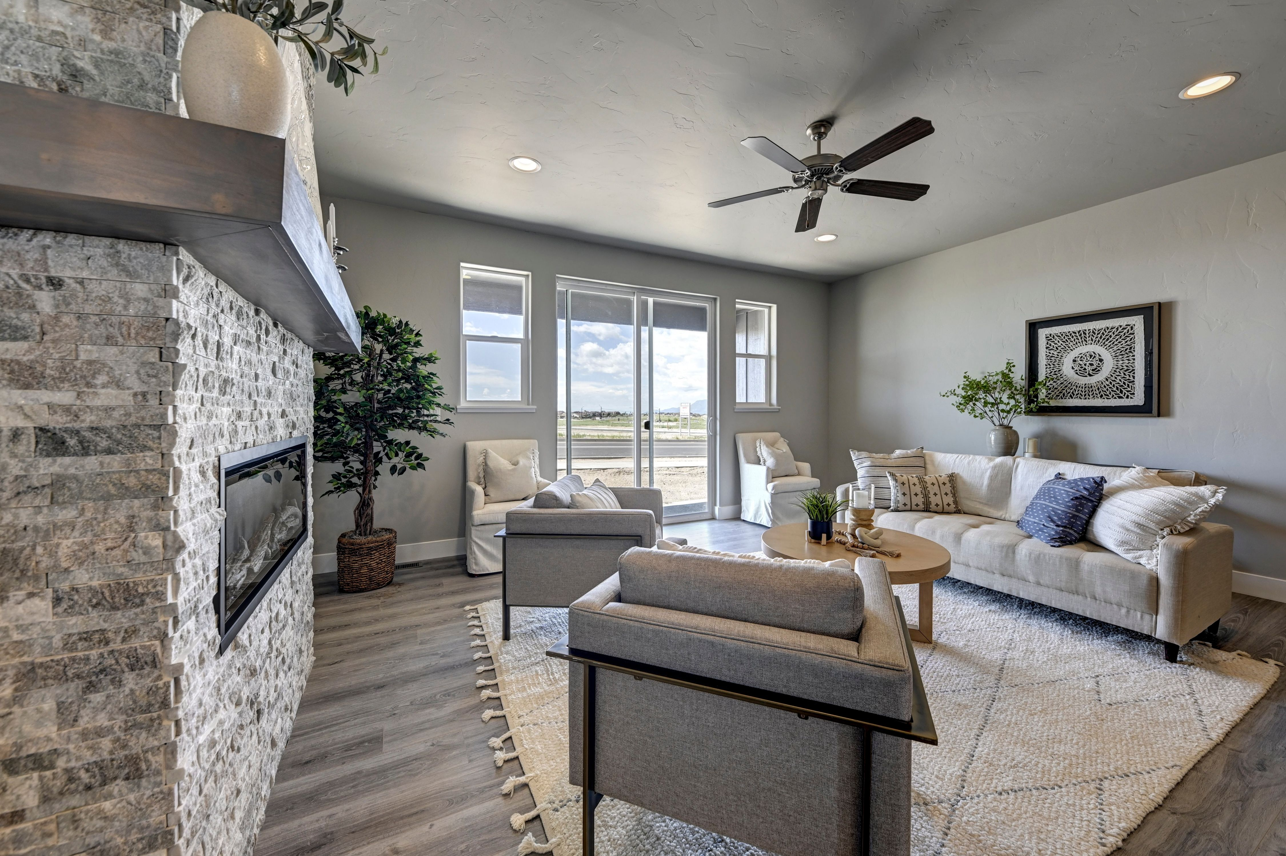 Living Area featured in the Jones By Adamo Homes in Colorado Springs, CO