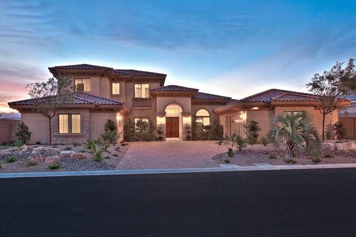 Luxury Estate Homes By Pinnacle Homes In Las Vegas Nevada