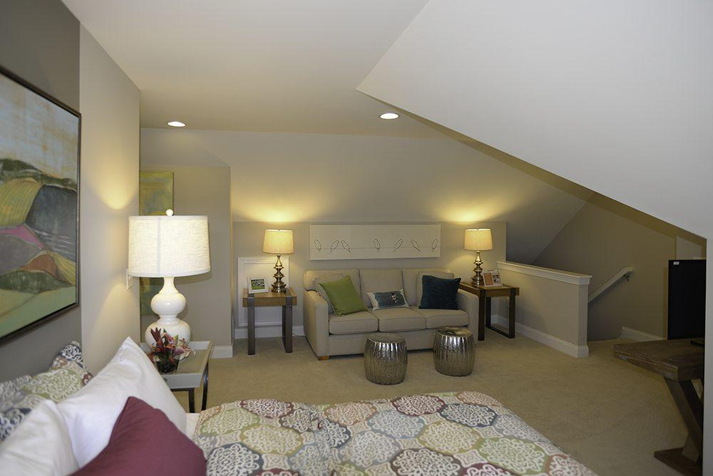 Living Area featured in the Palazzo By Pinnacle Communities in Des Moines, IA