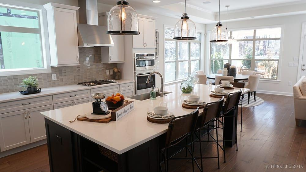 Kitchen featured in the Torino II By Pinnacle Communities in Des Moines, IA