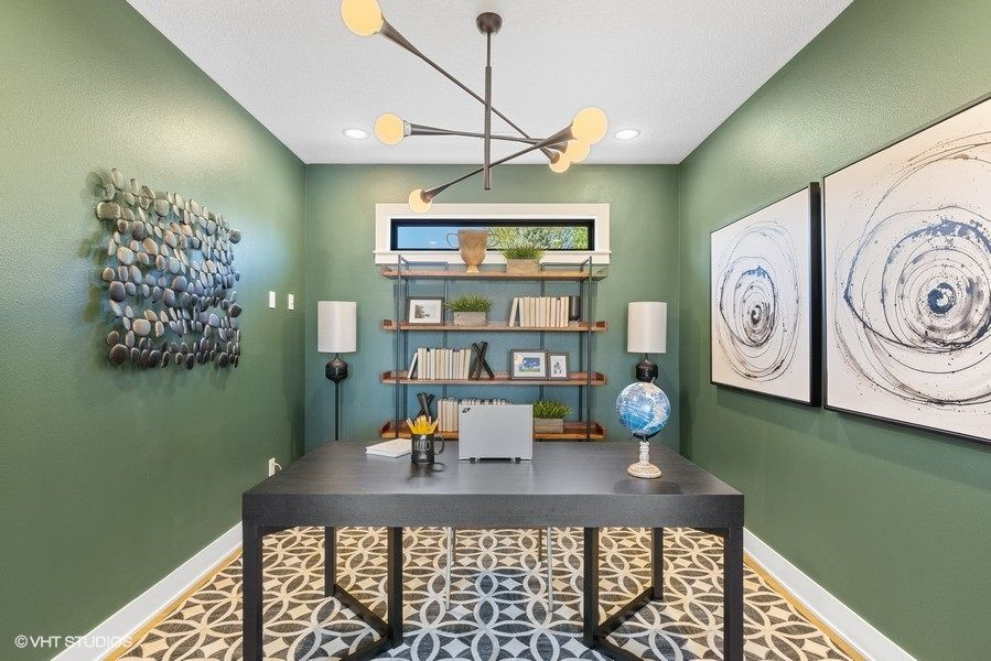 Living Area featured in the Portico By Pinnacle Communities in Des Moines, IA