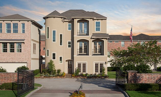 The Villas At Kings Harbor in Kingwood, TX, New Homes & Floor Plans by Plantation Homes