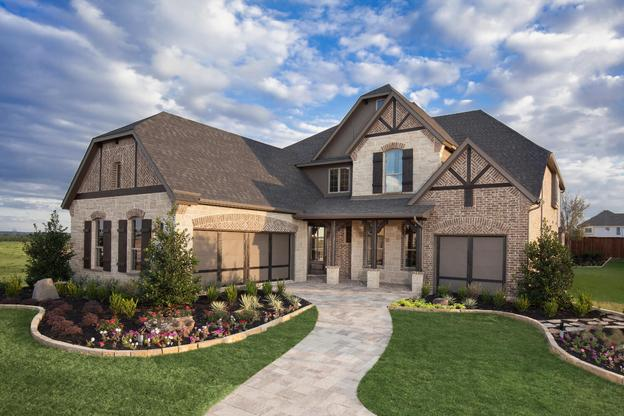 Elevation - The Lockhart II (2292 Plan)