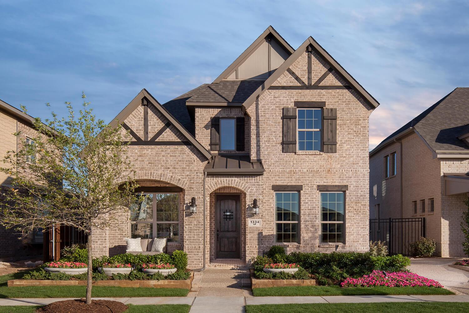 Charming Viridian Chalet Series By Plantation Homes In Fort Worth Texas