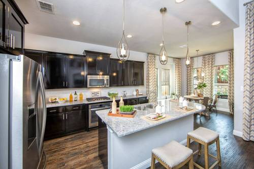 Kitchen-in-Navarro Mills-at-Parkside East 50'-in-Irving