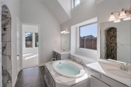 Bathroom-in-Tuscola-at-Wildridge 70' Homesites-in-Oak Point