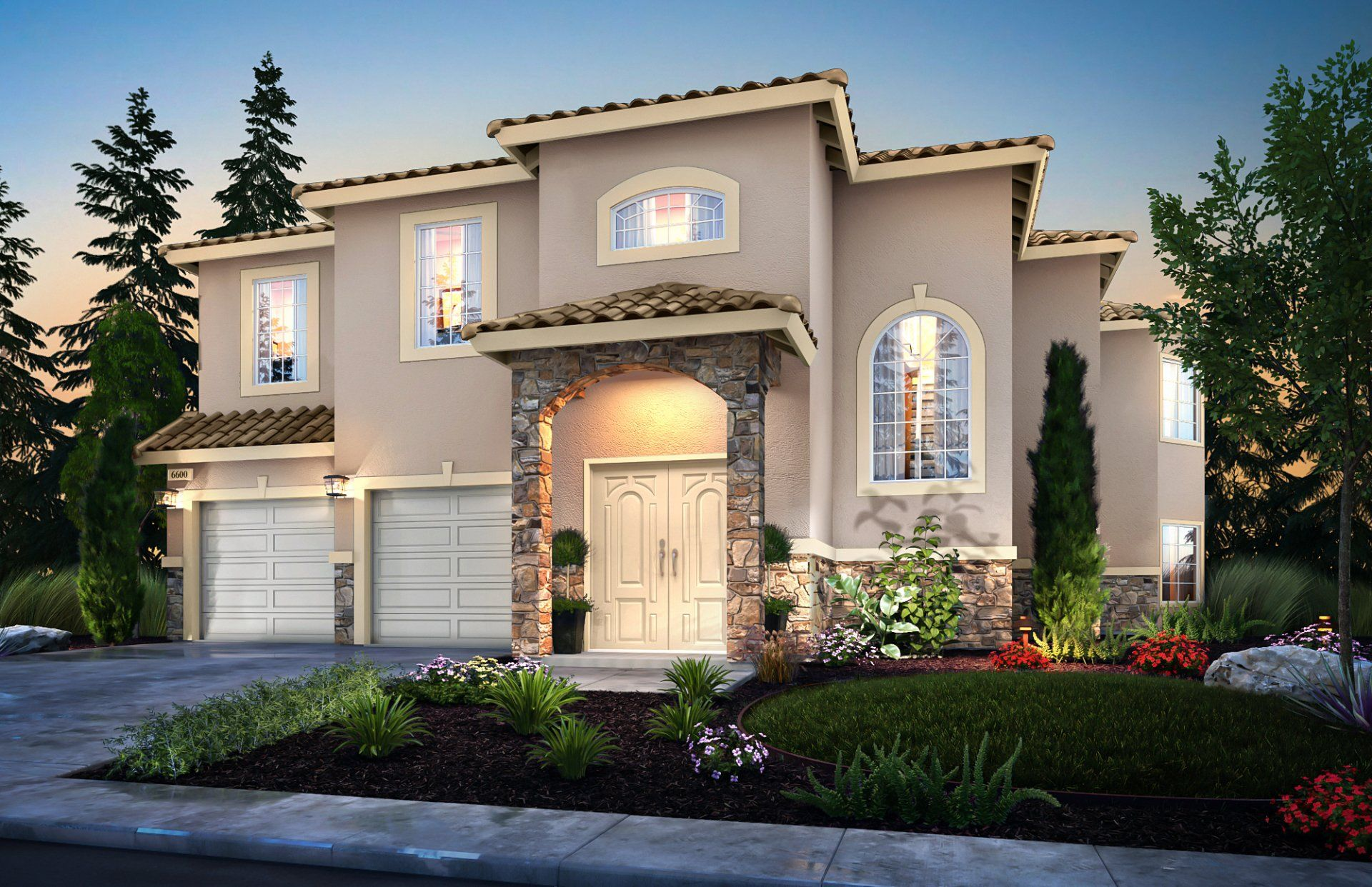 Exterior featured in the Tuolumne By Fig Garden Meadows in Fresno, CA