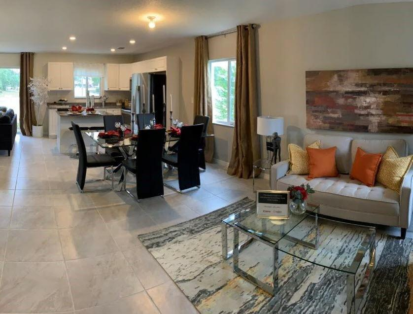 Living Area featured in The Crossings at North Lauderdale By Urban Pointe