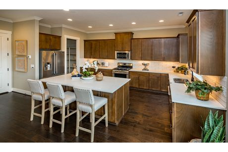 Kitchen-in-The Hawthorn-at-Eastridge at River Terrace-in-Beaverton