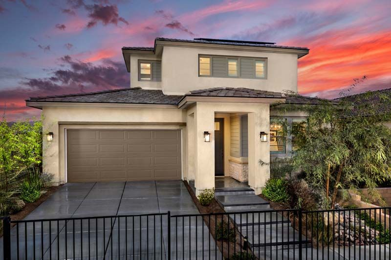 Exterior featured in the Residence 4 By Ponderosa Homes in Riverside-San Bernardino, CA