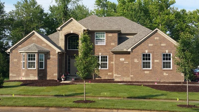 Exterior featured in the Hampton By Evergreen Homes in Detroit, MI