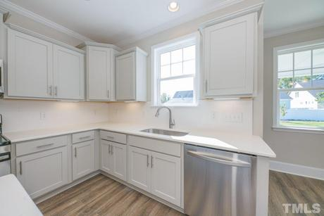 Kitchen-in-The Nelson-at-Knightdale Station-in-Knightdale
