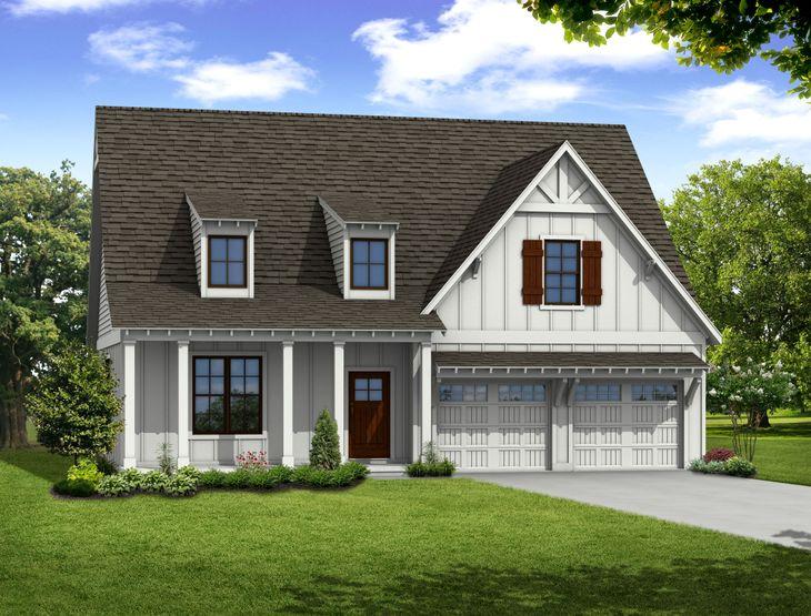 Brentwood Floor plan_front garage:Brentwood Floor plan_front garage