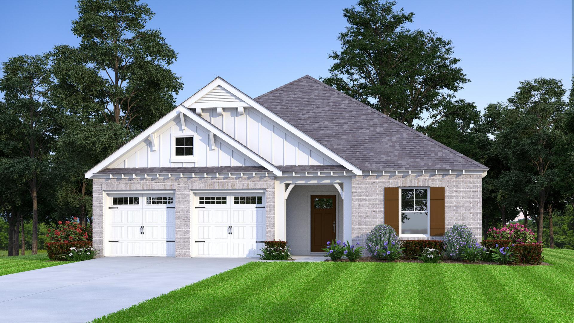 Exterior featured in the Hallman By Tower Homes in Birmingham, AL