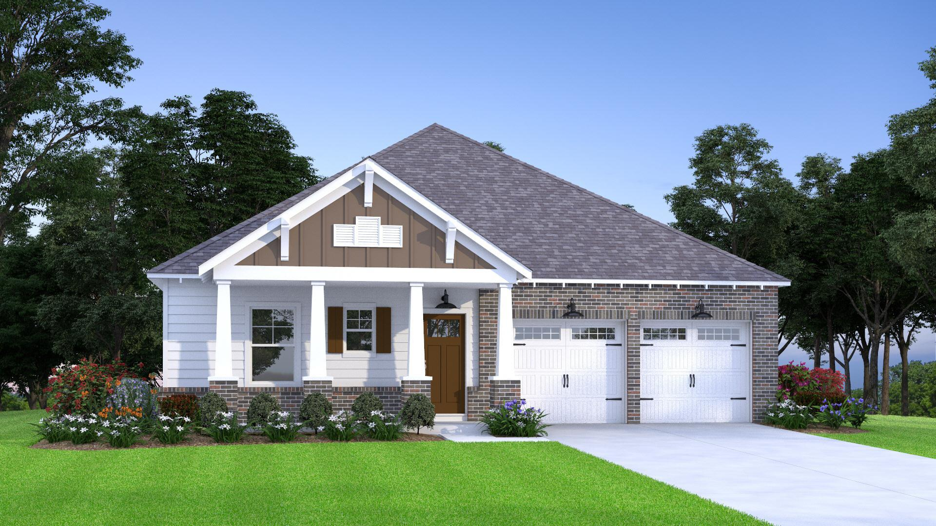 Exterior featured in the Fairmont By Tower Homes in Birmingham, AL