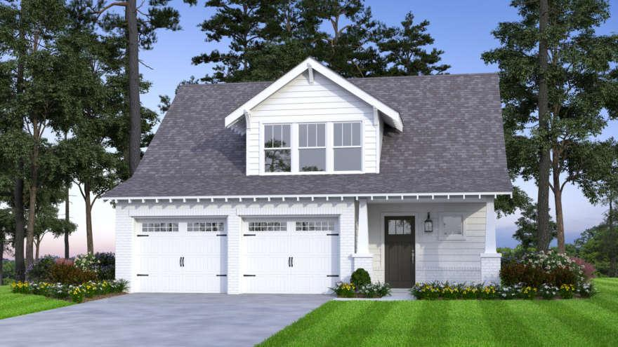 Exterior featured in the Edward By Tower Homes in Birmingham, AL