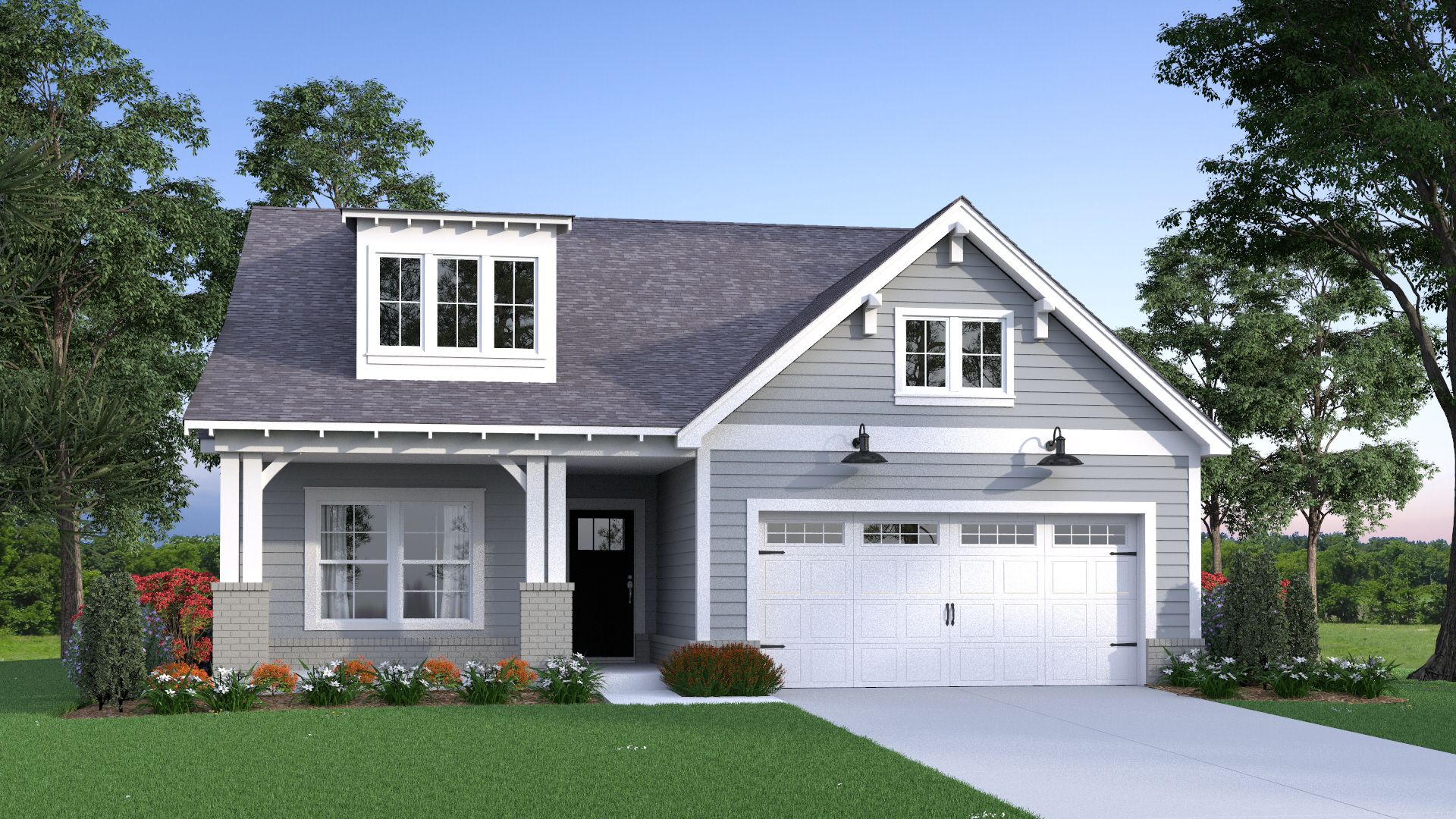 Exterior featured in the Sarah By Tower Homes in Birmingham, AL