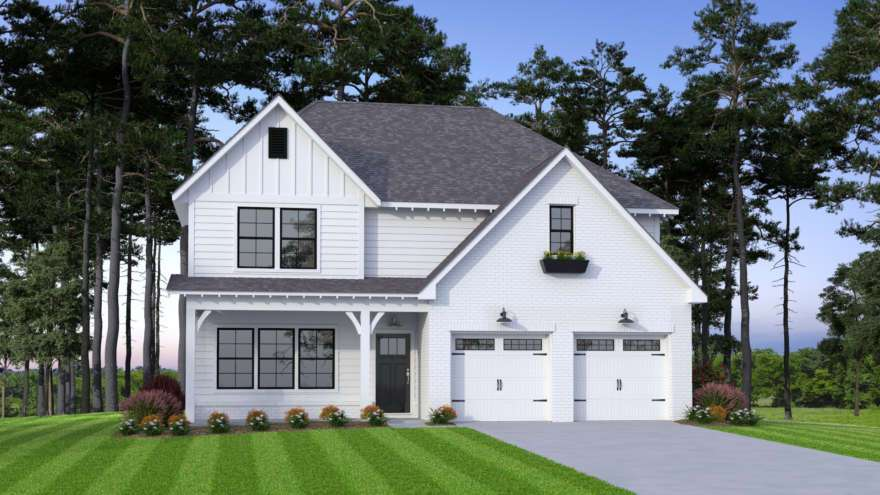 Exterior featured in the Ross By Tower Homes in Birmingham, AL