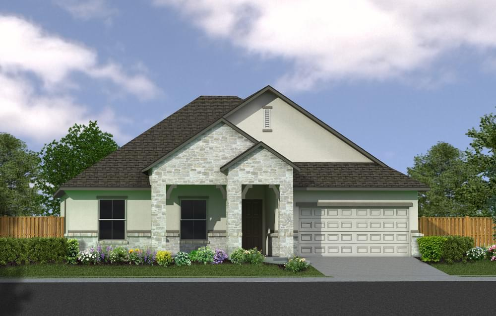 Exterior featured in The Aristo By Princeton Classic Homes SA in San Antonio, TX