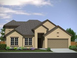 The Corliss - Meyer Ranch: New Braunfels, Texas - Princeton Classic Homes SA