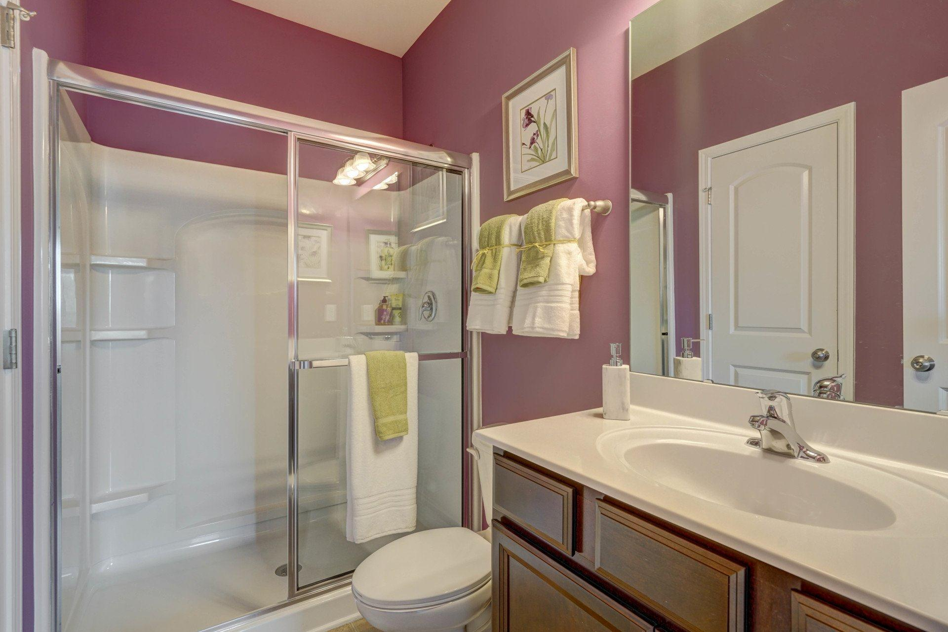 Bathroom featured in the Riverbirch By Profile Homes in Charlotte, NC