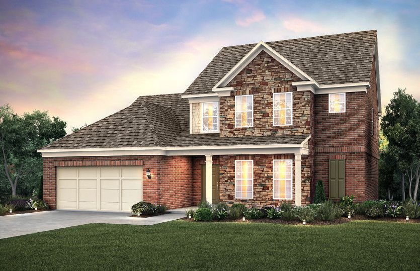 Exterior featured in the Furman By Pulte Homes in Atlanta, GA