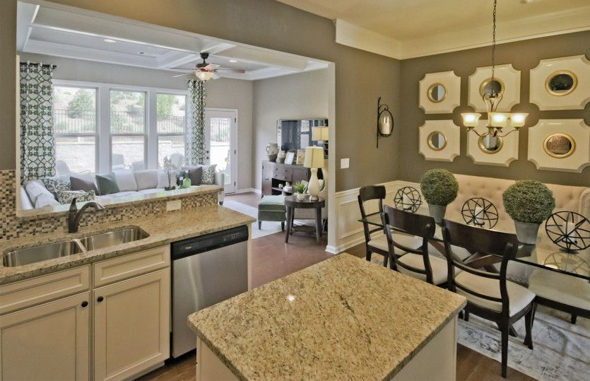 Living Area featured in the Hawthorne By Pulte Homes in Atlanta, GA