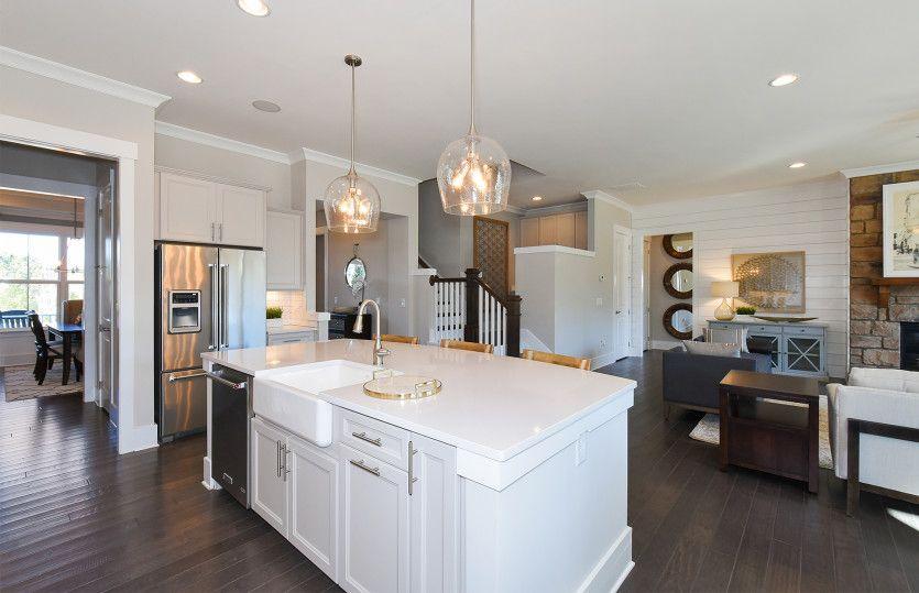 Kitchen featured in the Vanderbilt By Pulte Homes in Atlanta, GA