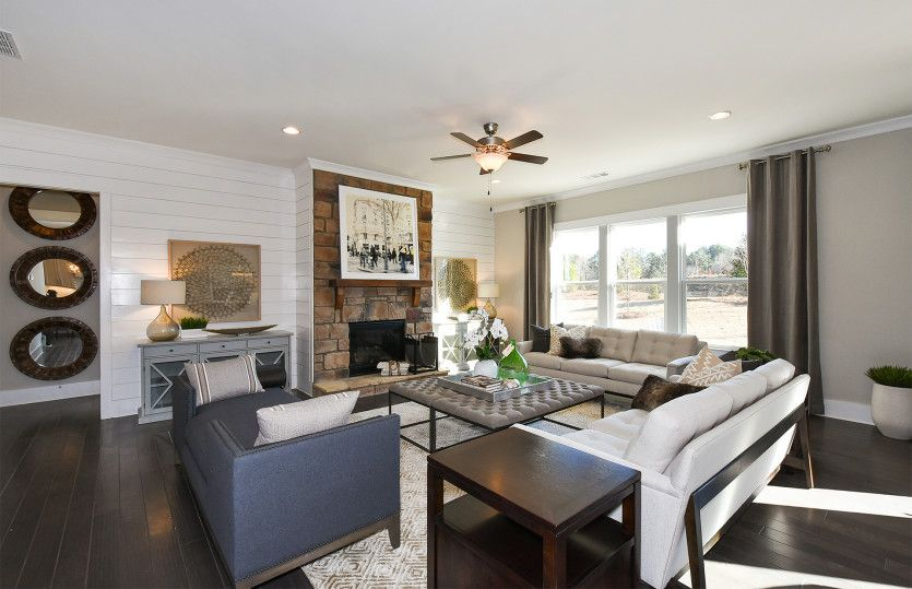 Living Area featured in the Vanderbilt By Pulte Homes in Atlanta, GA