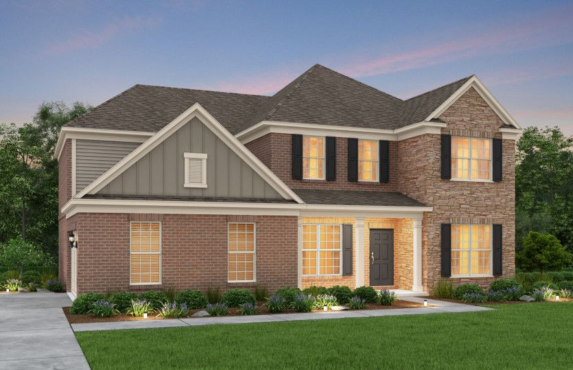 Exterior featured in the Wingate By Pulte Homes in Atlanta, GA