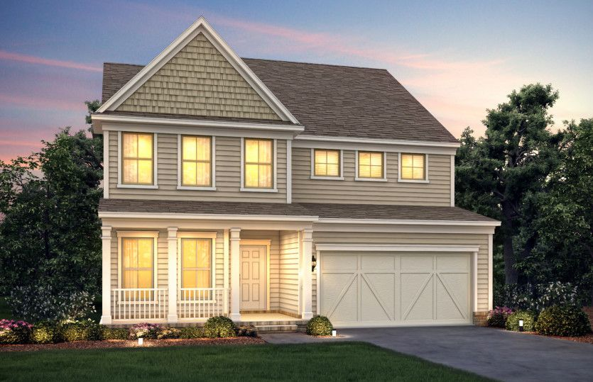 Exterior featured in the Continental By Pulte Homes in Atlanta, GA