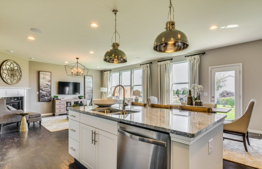 Greatroom-and-Dining-in-Mercer-at-Oakhaven-in-Holly Springs